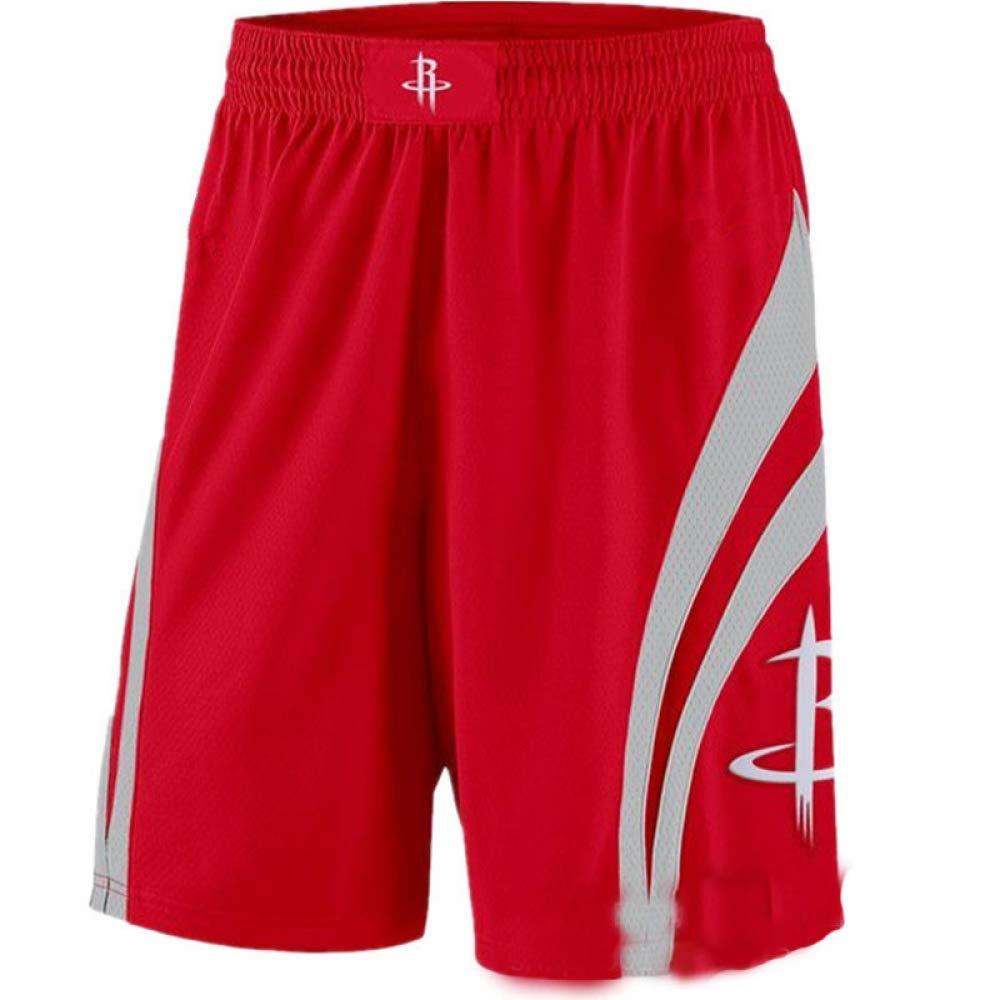 XH Wei Shao Rockets Maillots Dentra/înement De Basket-Ball Russell Westbrook # 0 Maillot Et Short De Broderie en Tissu Respirant Noir Et Noir Taille: S-XXL