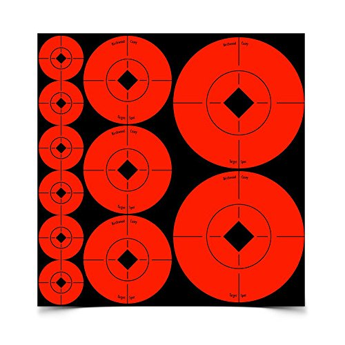 Birchwood Casey Assorted Target Spots, Red ()