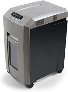 Aurora AU1580MA Professional Grade High Security 15-Sheet Micro-Cut Paper/CD and Credit Card Shredder, 60 Minutes Continuous Run time
