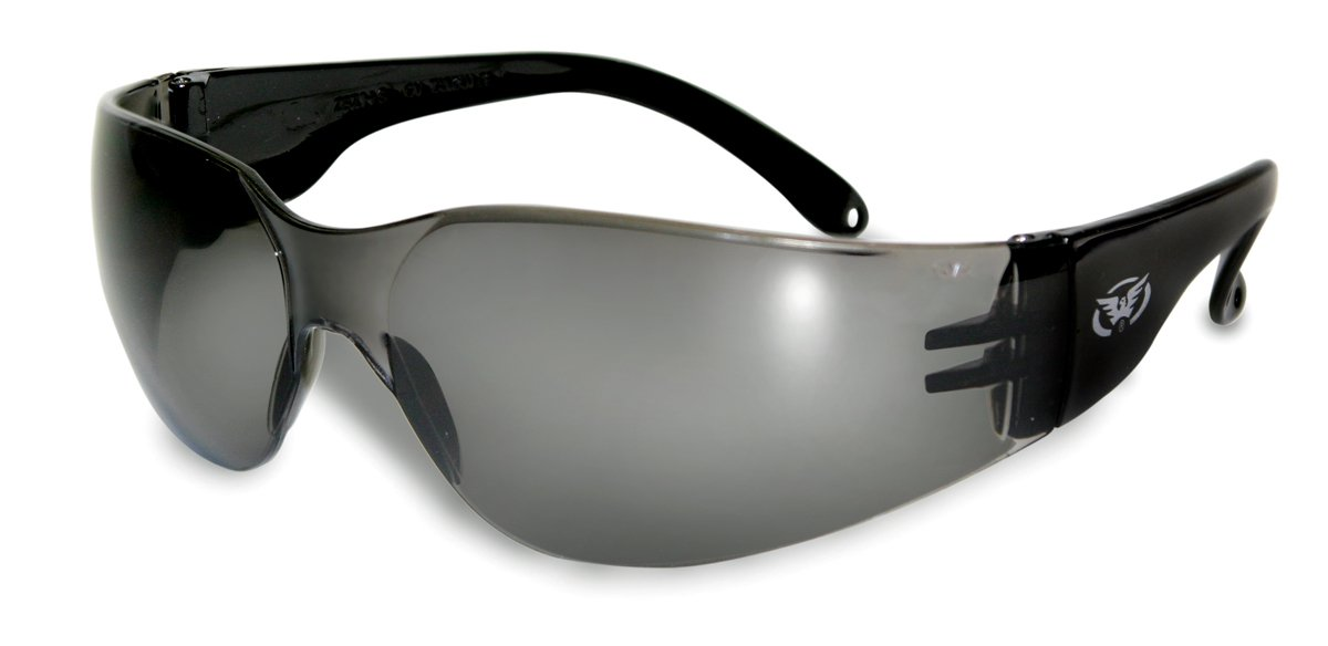 Global Vision Rider - Shatterproof UV400 Motorcycle Antifog Sunglasses / Biker Wraparound Glasses Complete With FREE MicroFibre Storage Pouch