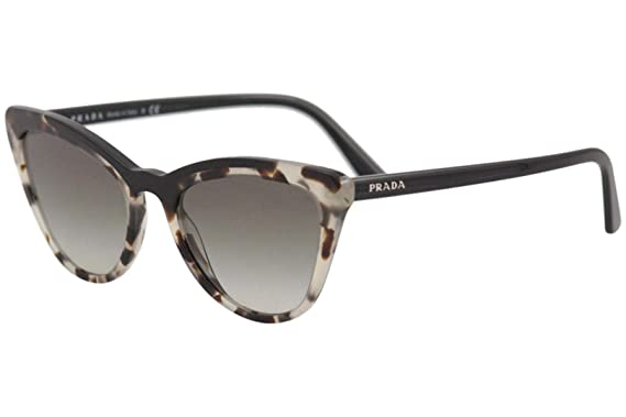 Prada PR01VS 3980A7 Brown/Black PR01VS Cats Eyes Sunglasses ...