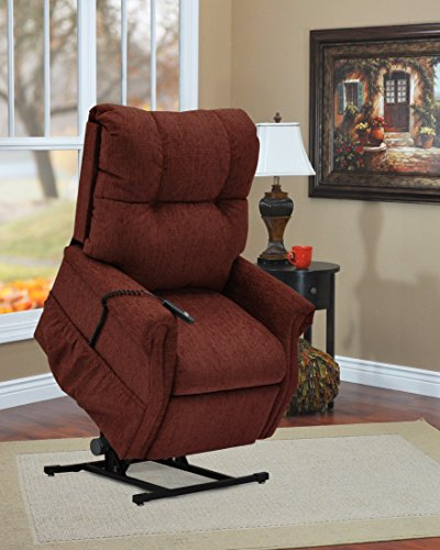 Lift Chair Power Recliner by Med Lift - Three Position Reclining Lift Chair - Made in The USA by a Trusted Lift Chair Brand