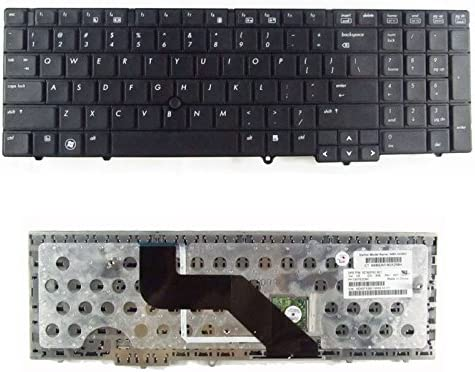 Laptop Keyboard ForHP ProBook 6540b 6545b 6550b Service US Version Black Colour US Layout Without Point