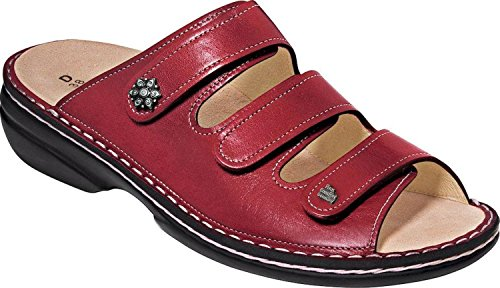 Rouge Femmes Finn Menorca Light Soft Sandales Comfort Red ZqqRxwf