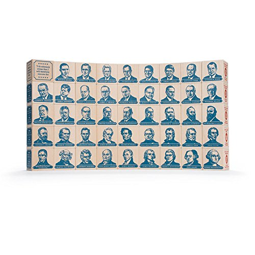 Uncle Goose President Blocks - Made in USA](Uncle Goose Presidential Blocks)
