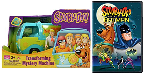 Scooby-Doo Meets Batman DVD & Mystery Machine Van & Fred Figure set (Vs Collectibles Batman Dc Robin)