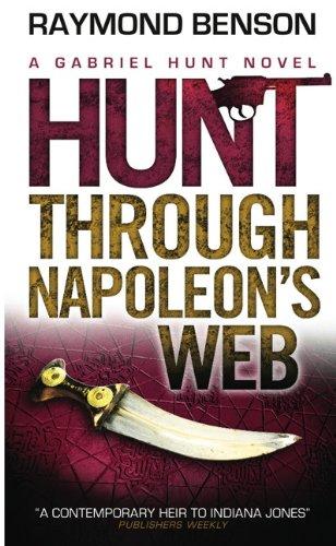 book cover of Hunt Through Napoleon\'s Web