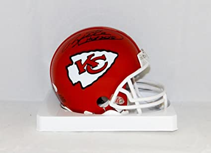 Image Unavailable. Image not available for. Color  Will Shields Autographed  Kansas City Chiefs Mini Helmet With HOF- JSA ... bb1b00f63