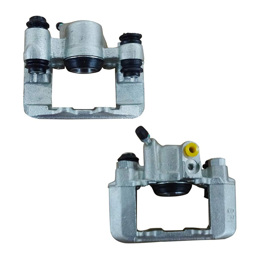 192613 Rear Right Caliper Assembly with Hardware , IRONTEK Rear Brake Caliper Passenger Side ONLY Fit for Pontiac 03-08 Vibe FWD Toyota 03-08 Matrix, 05 06 Corolla XRS, 00-05 Celica GT-S