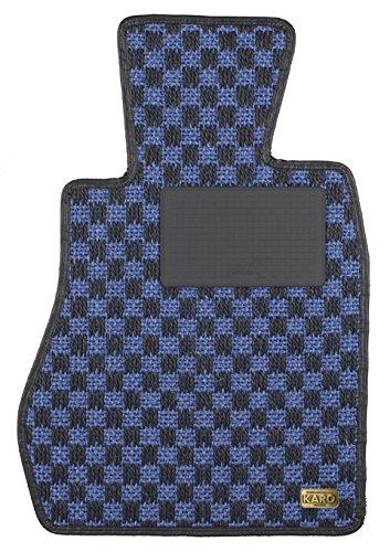 KARO(カロ) フロアマット SISAL ブルー/ブラック スバル レヴォーグ 3515(一台分) B00NV4XWGQ SISAL×ブルー/ブラック SISAL×ブルー/ブラック