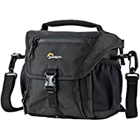 Lowepro Nova 140 AW. Shoulder Camera Bag for Mirrorless Camera, Compact DSLR, or Compact Photo Drone.