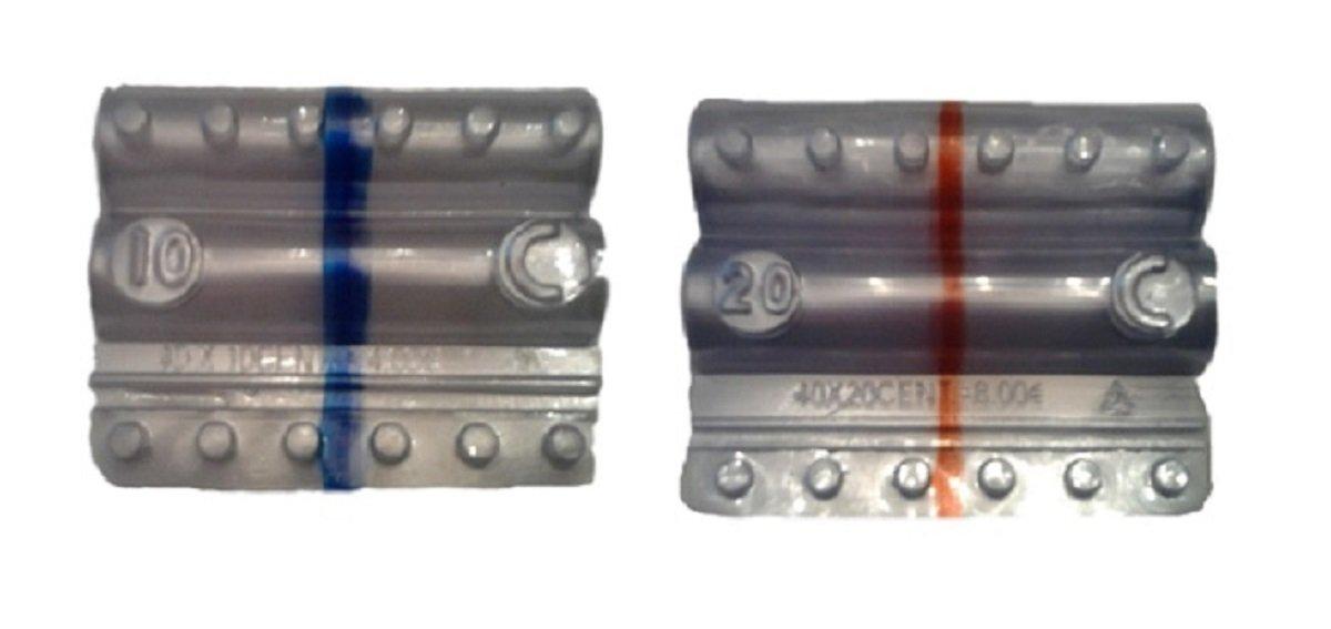 Blister per monete euro - Kit 250 blister portamonete misti da 10-20 centesimi Holenburg