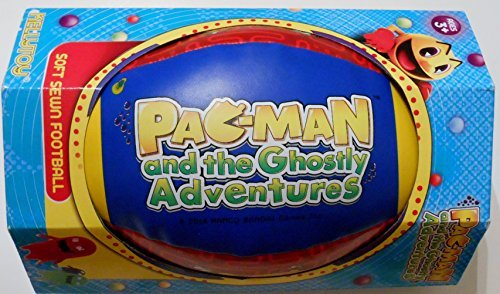 Pac-Man 9 Soft-Sewn Football by Kelly Toy