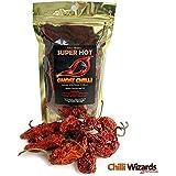 Naga Jolokia (Ghost Pepper) séchés Chilli Pods 50g Sac