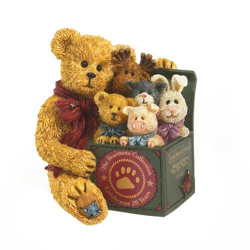 Enesco Boyds Resin LE 20TH Anniversary Bear Figurine, 3.25-Inch (Resin Boyds Bears)