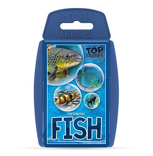 (Freshwater Fish Top Trumps Card Game)