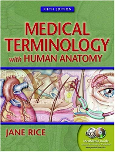 Medical Terminology With Human Anatomy Fifth Edition 9780130487063