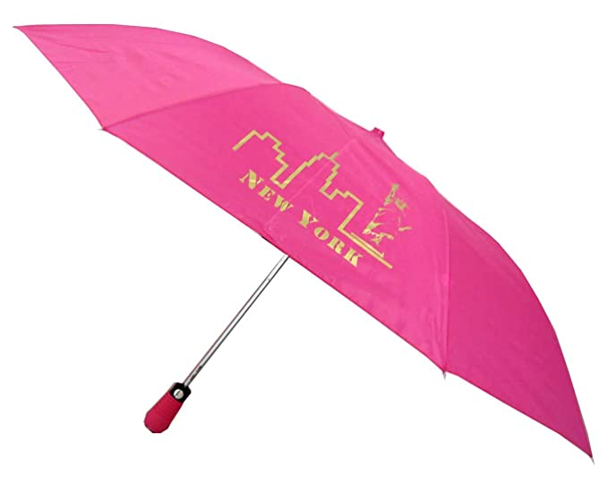 160755966f22 Amazon.com | Compact Automatic New York Sightseeing Umbrella | Umbrellas