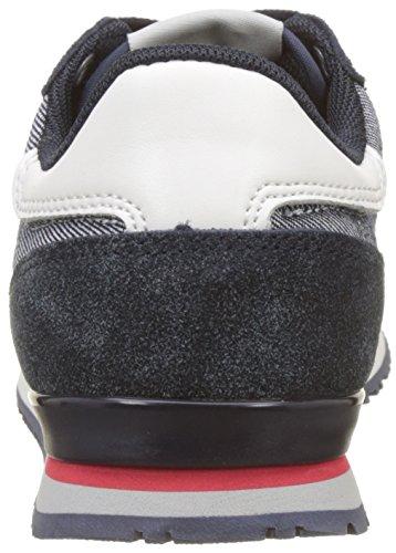 Pepe Jeans London Jungen Sydney Soul Sneaker Blau (Navy)
