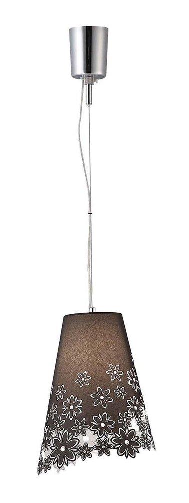 インターフォルム(INTERFORM INC.) ペンダントライト SALLY -サリー- BK ブラック(黒色) 適用畳数 ~4.5畳 LT-3641BK B00373LTMK ブラック(黒色) E17/100W ホワイトミニクリプトン球付