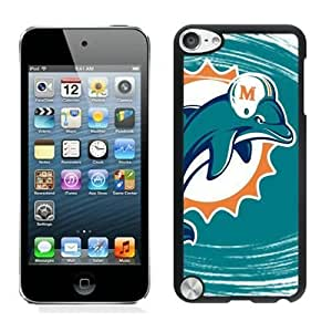 NFL Miami Dolphins iPod Touch 5 Case YMH90821 NFL Phone Case Cover Active