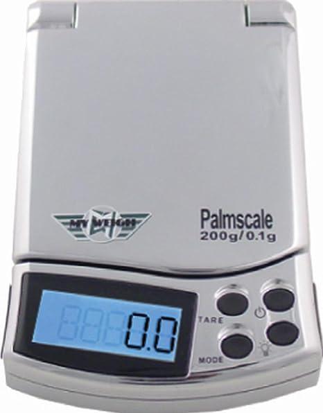 Báscula portátil My Weigh palmscale 5