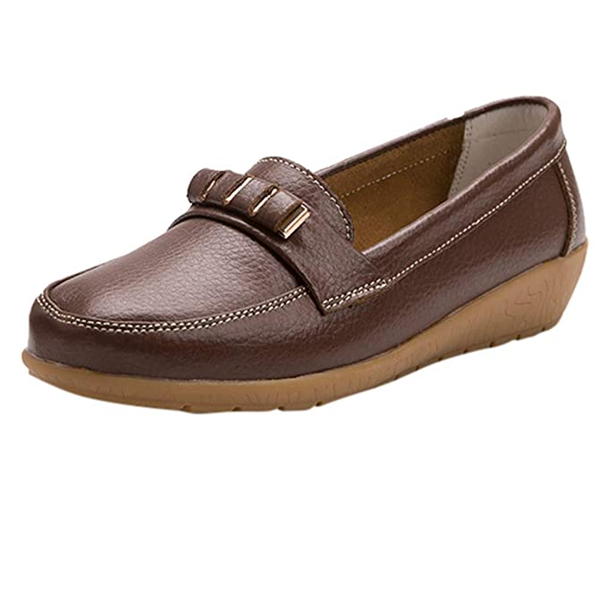 Clothing, Shoes & Accessories Women's Flat Loafers Slip On
