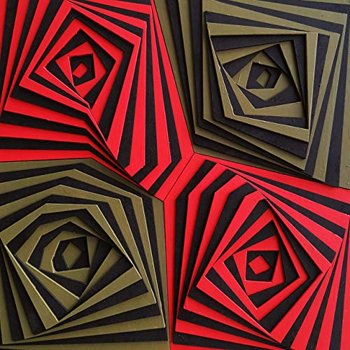 Red & Green Roses 3D Wall Design - Wood Wall Decor - Lasercut by illuzyonerdesign (Image #3)