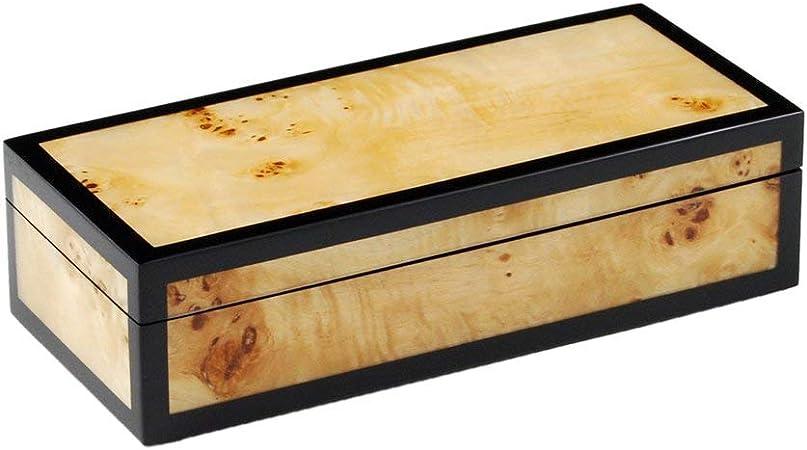 Hollywood - Caja para lápices (Madera, 23 x 10 x 6 cm), diseño de Madera de Pino: Amazon.es: Hogar