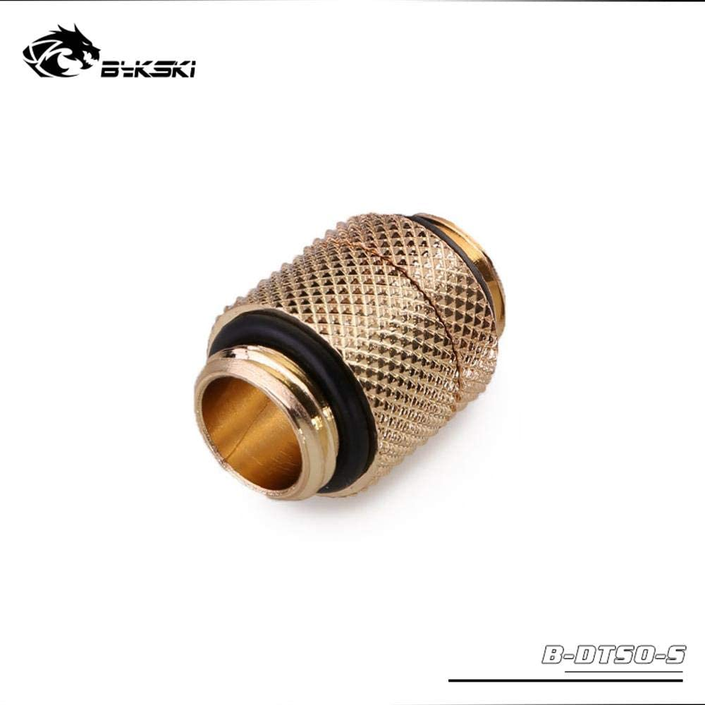 Bykski B-DTSO-S Rotatable Extend Connector Fitting Gold