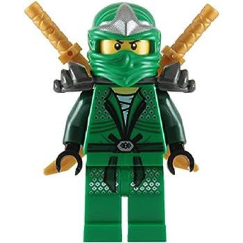 Lloyd zx green ninja with dual gold swords lego ninjago toys games - Ninja vert lego ...