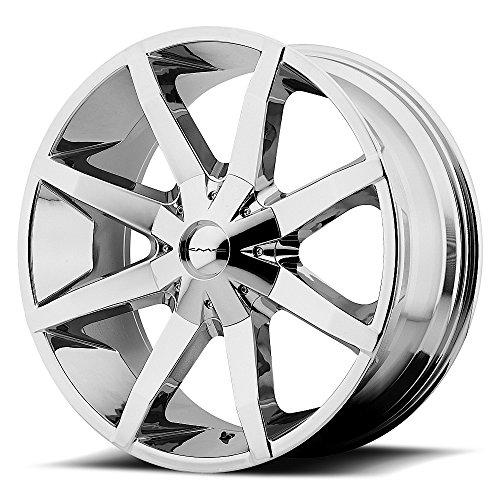 KMC Wheels KM651 Slide Triple Chrome Plated Wheel (24x9.5