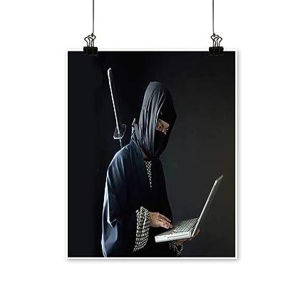 Amazon.com: Artwork for Living Room Decorations The Ninja ...