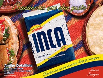 Inca Manteca (vegetable shortening) 1 kilo 35 ounces