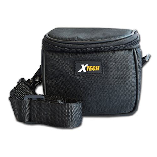 Well Paddded, Stylish Camera Case for Nikon Coolpix L840, L830, L820, L810, P600, P7800, P7700, P7100, P7000, P6000, P5100 P530, P520, P510, P500, P100, L620, L610, L330, L320, L310, L110, P340, P330 Digital Cameras and all Medium size Cameras. by Xtech