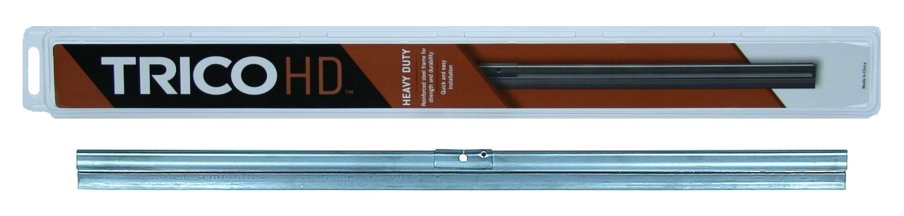 Trico 61-151 61 Series Heavy Duty Black Wiper Blade for Flat Windshields, 15'' (Pack of 1)
