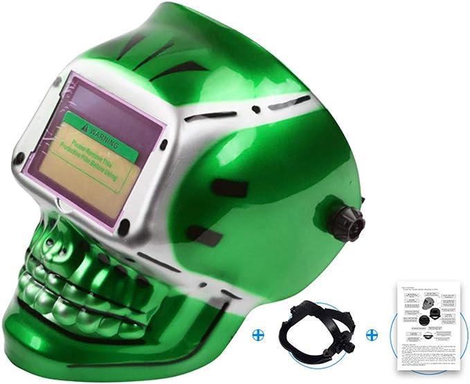 Casque de Soudure mysticall Masque photo/électrique Solaire Automatique de Soudure pour la soudeuse de meulage de Soudure /à larc Protecteur de t/ête darc dargon de Soudure