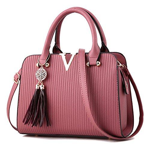 Piccola Donna Capacità Rubberpowder Tracolla Borse Shopping Handbag Grande 5qwXAEBpx