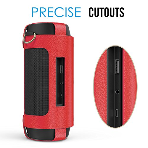 Microfiber Cloth Jb Hi Fi: MoKo Carrying Case For JBL Charge 2+ , Portable Bluetooth