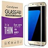 Galaxy S7 Screen Protector,Candywe Full Coverage Samsung s7...