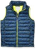 Amazon Essentials Boys' Lightweight Water-Resistant Packable Puffer Vest