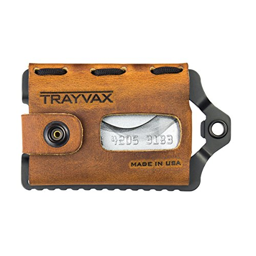 Trayvax Element Wallet (Tobacco Brown Black Edition)