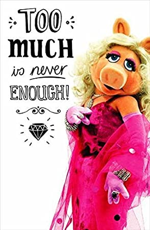 The Muppets Miss Piggy Birthday Card Amazon Office Products
