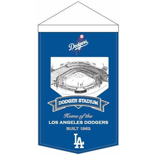 Winning Streak MLB Los Angeles Dodgers Mens Stadium Banner Large Blue