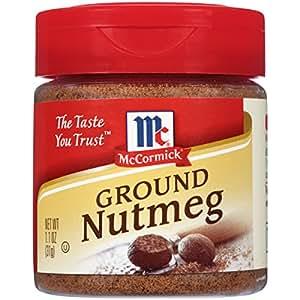 McCormick Ground Nutmeg, 1.1 oz