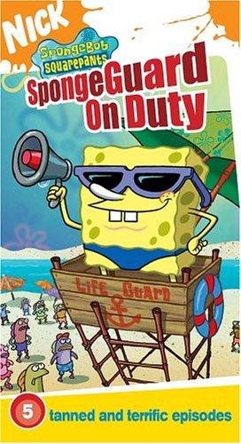 UPC 097368798236, Spongebob Squarepants - Spongeguard on Duty [VHS]