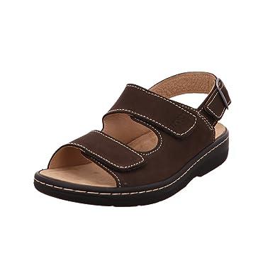 1a38756ba4b9ee LONGO Herren Offene Braune Sandale 1006511 braun 351384  Amazon.de ...