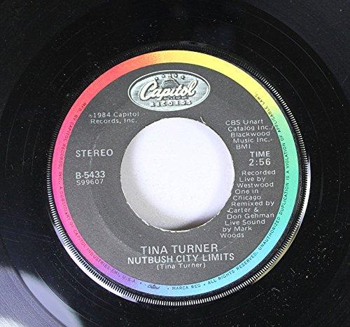 Tina Turner 45 RPM Nutbush City Limits / Private Dancer (Tina Turner Vinyl Private Dancer)