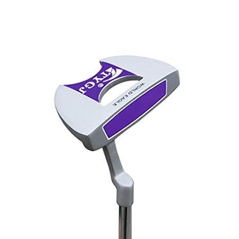 Club de golf Putter semicircular Putter de golf de acero ...