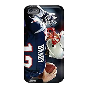 Hardcase88 Apple Iphone 6s Plus Shock Absorption Hard Cell-phone Cases Provide Private Custom Colorful New England Patriots Pattern [ieA4365ToAH]